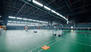 karpet badminton
